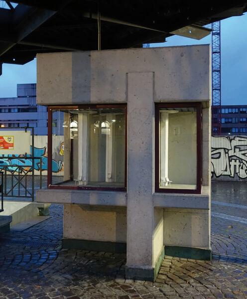 Kristin Wenzel - Art installation Loerrach 1