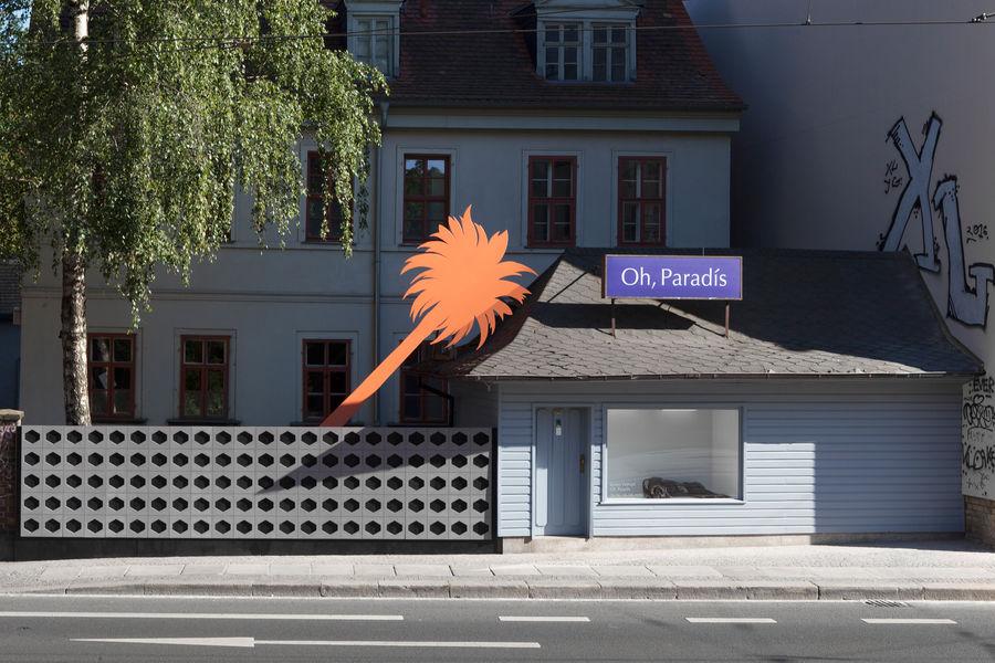Kristin Wenzel - Installation Leipzig Kunstraum Praline