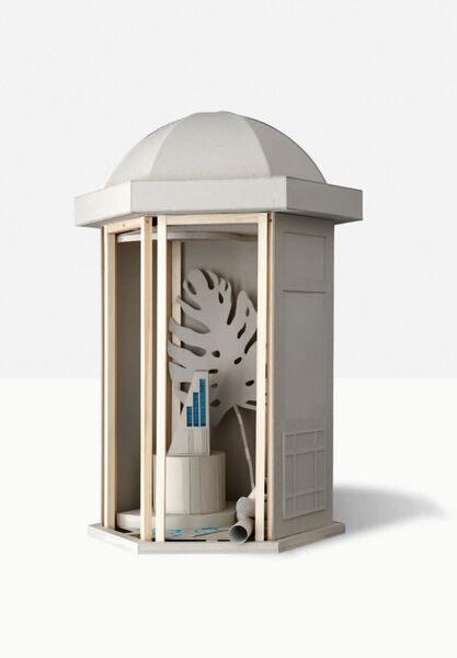 Kristin Wenzel | Sculpture model for a pavillon #2 1