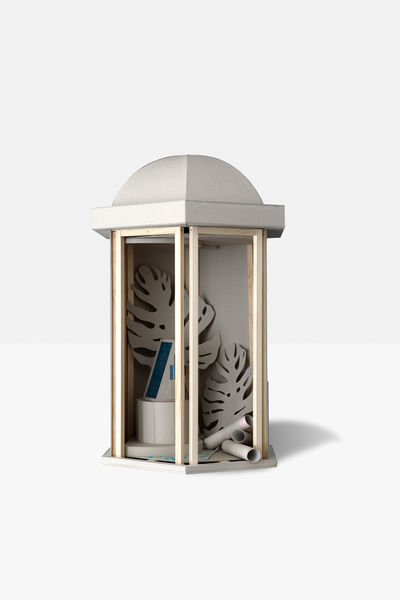 Kristin Wenzel | Sculpture model for a pavillon #2 3
