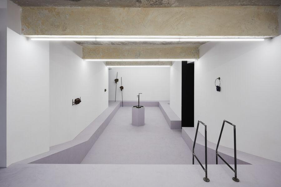 Kristin Wenzel | installation Suprainfinit gallery, Bucharest 3