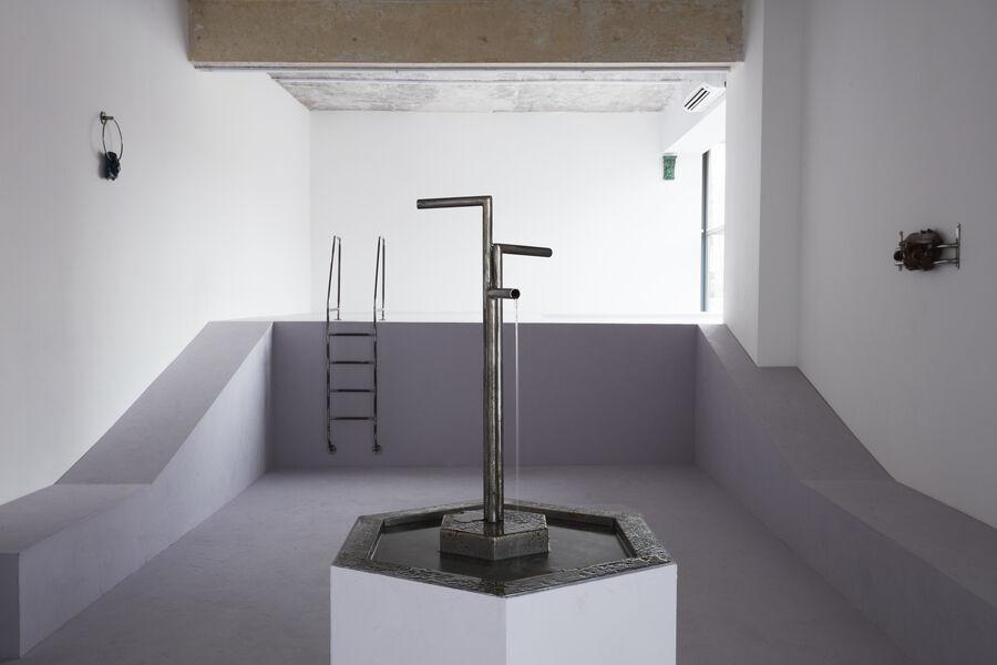 Kristin Wenzel | installation fountain Bucharest